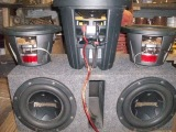 Pioneers Biggest subwoofer ever ! 8000spl ! TS-w8102 SPL