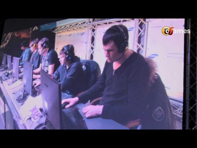WCG 2012 UA - Na`Vi XBOCT SMS FAIL @ CyberArena Kiev