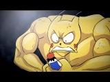 Pikachu Gets JACKED / Прокаченный Пикачу [RUS DUB]