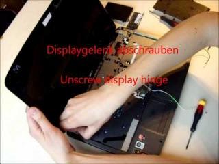 Acer Aspire 5536 zerlegen Mainboard Disassembly guide Repair