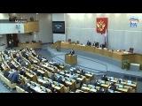 Пленарное заседание Государственной Думы  Репортаж ER RU