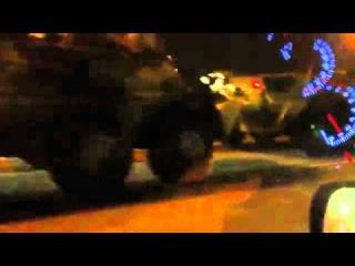 Авария с танками на мкаде 08.12.11