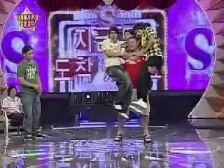 Strongman, in tv show KOREA! big Z