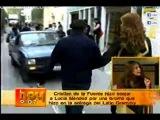 Cristian de la Fuente hizo enojar a Lucia Mendez por una broma - Hoy - 12.12.2012.