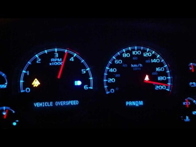 Chevrolet Tahoe 2011 Acceleration 0-190KPH / 0-120MPH