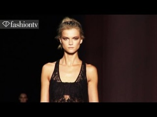 Lindsey Wixson & Kasia Struss - Top Models at Spring 2012 Fashion Week | FashionTV - FTV