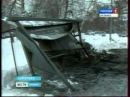 В Кемерове сгорела маршуртка