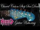 Guitar Unboxing Charvel San Dimas Custom Shop USA Aniline Blue Neogeofanatic
