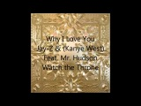 Jay-Z &amp Kanye West-Why I Love You (feat. Mr. Hudson)-Lyrics on Screen
