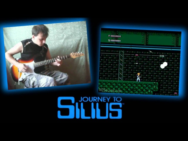 Journey To Silius - Theme guitar cover by kicel