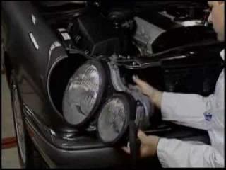 Mercedes W210 pre-facelift - demontarea farurilor - clubmercedes.ro