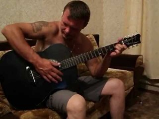 Николай Вазгустов - Спелые вишни (под гитару)