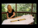 Warm Bamboo Massage Hot Stone Seashell Crystal Kits Techniques Training - How to give - YouTube