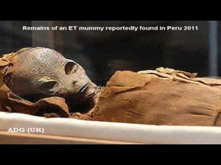 UFO ET Mummy Found in Egypt 2012 discovered by Dr. Viktor Lubek