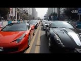 Over 50 supercars parade SCC Sports Car Club