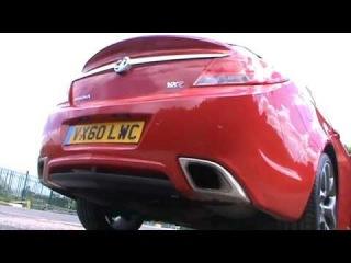 Vauxhall Insignia VXR soundtrack