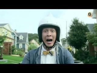 Японская реклама: TOTO Toilet Bike Neo - байкеры и копрофил