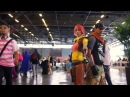Japan Expo 2012  Cosplay video