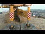 deme macarale liebherr lr 1600/2 -w Narrow Track - Demo movie