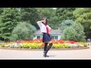 Японская школьница Okimi танцует-Yay!Yay!Yay!