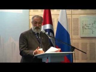 Международный форум Арктика речь А. Чилингарова