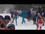 Biathlon. World Cup 2013. Khanty-Mansiysk. naked man on the track FUNNY RUSSIA