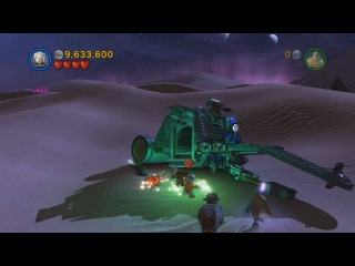 Lego Star Wars III The Clone Wars Gameplay Castle of Doom Secret Mission Full HD 1080 p