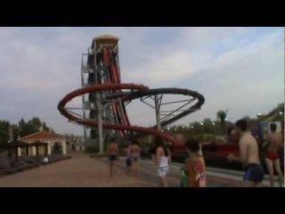 Витязево 2012(аквапарк Олимпия (супер гора)