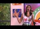 """Violetta e Ludmilla cantano """"Te creo"""" al Resto Band - HD"""