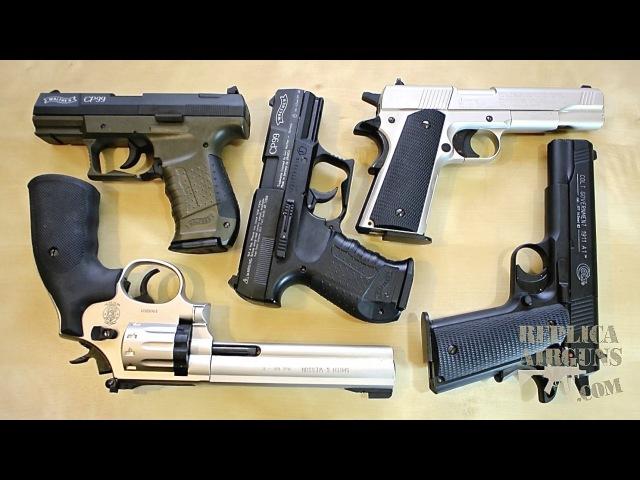 Umarex SW 686 Revolver - Walther CP99 - Colt Government 1911 A1 Pellet Gun Update Video