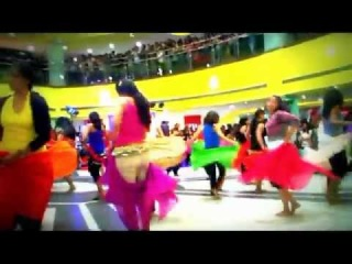 Belly Dance Flash Mob- Garuda Mall Bangalore - April 29th 2012 World Dance Day