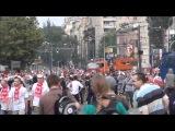 Zamieszki w Warszawie przed meczem Euro 2012 Polska - Rosja