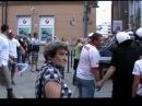 EURO 2012 Wrocław awantura Poland Russia scene provocations