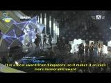 ENGSUB 2011 MAMA Singapore's Choice - Super Junior (FULL HD)
