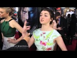 Maisie Williams on Wanting to Be Like Arya and Growing up on