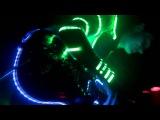 Black DJack Laser neon music show