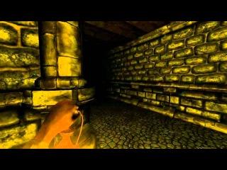 Летсплей налево от лифта -- Let's Play Amnesia's Custom Story -- Day 1