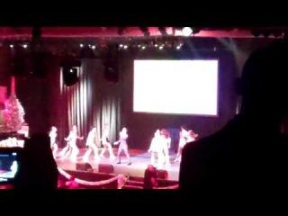 Trevor Live - Glee's Darren Criss performs 'It's Not Unusual' with some Cheerio dancers