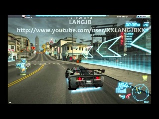NFS World New Race Lunar Circuit / Nueva Carrera