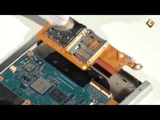 как разобрать электронную книгу Sony PRS-600 Touch Edition.mp4