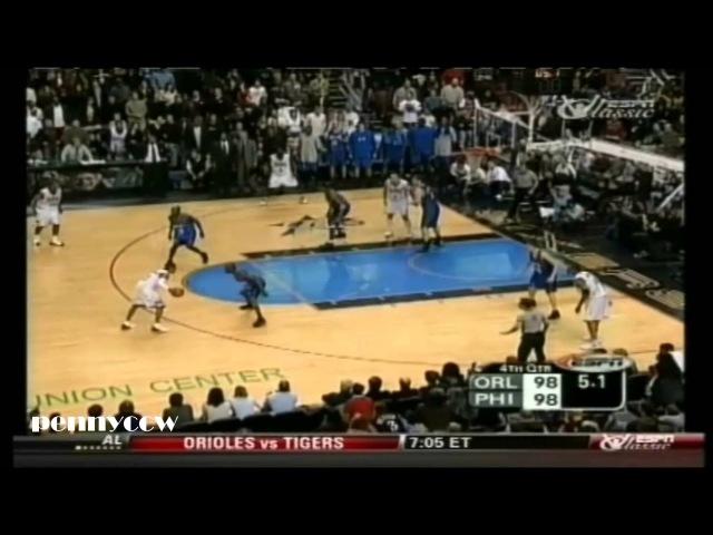 NBA Greatest Duels: Allen Iverson vs. Tracy McGrady (2003) *Tmac 37pts