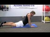 7-ми минутный комплекс упражнений для накачки пресса