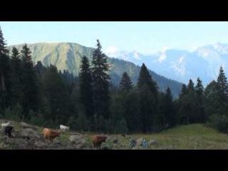 Путешествие по затерянны мирам горной Абхазии. Часть 3