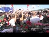 Gavin Herlihy and Laura Jones at the Culprit Vs Leftroom 2012 Off Sonar party