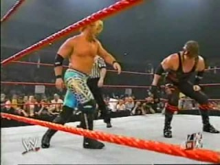 Chris Jericho and Christian vs. RVD and Kane WWE Tag Team Title Match - WWE RAW 2003