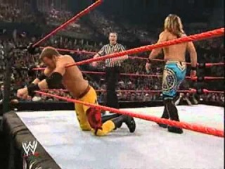 Chris Jericho vs Christian and Trish Stratus Backlash 2004 part 2/2