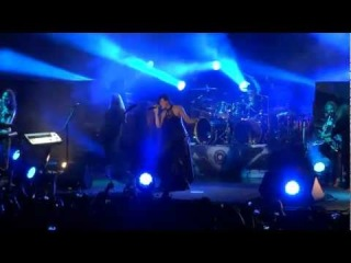 Nightwish - Nemo в исполнении трех вокалисток группы - Тарьи турунен, Анетт Ользон и новой вокалистки Флор Дженсен, Floor Janse