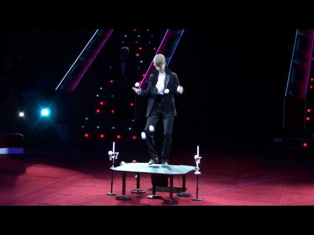 Степ-жонглёр - Константин Куляк (2012) HD
