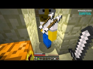 Minecraft - MINEBUSTERS SURVIVAL - Just a map with 25 levels - #5