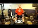 Henry Thomason - Powerlifting Deadlift & Bench Press Training 010113 @ KPG